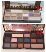Wholesale 2015 NEW HOT Makeup Chocolate Bar Eyeshadow Palette Color Eye Shadow palette semi sweet palette kinds can choose via DHL