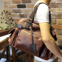 attache briefcases - Mens Genuine Leather Vintage Style Attache Briefcase Messenger Laptop Bags Tote