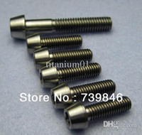 Wholesale Ti Titanium Stem and Headset Bolts