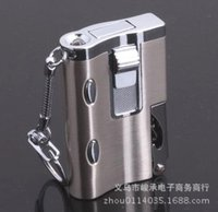 Wholesale Outdoor essential creative windproof lighter with the new multi purpose lighters money detector light flashlight opener