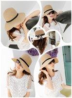 Cheap Wide Brim Hat sun hat Best Beige weaved straw hat