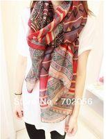 bandanas - new fashion voile viscose Scarf Sarongs Hijabs Bandanas wrap shawl poncho cm