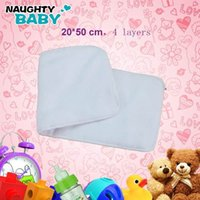 Wholesale Adult cloth diaper inserts Nappy nappies micorfiber layers inserts zz1
