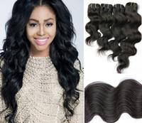 venda por atacado indian hair-Fábrica Venda 5A Qualificado Brasileira indígena Peruano, Malásia, mongólia, do Virgin de Remy do Cabelo Humano da Onda do Corpo,100% Humano Weave de Pacotes