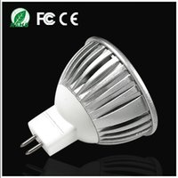 Wholesale 10pcs Spotlight Lamp MR16 W DC12V Cold Warm White Quality Assurance Aluminum Non dimmable LED Bulb Light energy saving