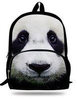 animal books online - 16inch hot sales panda children backpack Men s Backpack animals cartoon book bag online Men travel bag