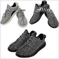 350 sapatos de moda da sapatilha dos homens 350 Classic Black Running Shoes com 1: 1 Box da mulher do homem Sapatos Dropshipping