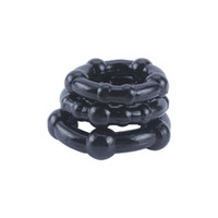 Wholesale New Arrival Penis Delay Ring sizes in Set Male Penis Cover Reusable Elastic Head to Penis Cock Ring Sex Products for Men