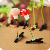 Wholesale Hot new cute children kid Plants Grass Fruit Hair Clips Lucky Grass Bean Sprout Mushroom Party Hair Pin