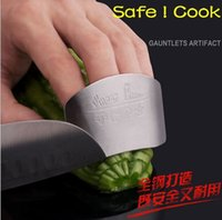 Wholesale Safe cook Finger guard protector gauntlets kitchen knife c cookware BBQ table decoration bakeware pizza cake tools sharpeners