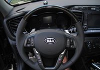 Wholesale 2011 KIA K5 Optima Original High quality Audio channel bluetooth Constant speed cruise Paddle shifters Steering wheel