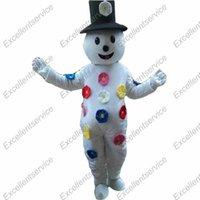 Wholesale Brand New Frosty the Snowman Mascot Mascot Costume Custom Anime Kits Mascotte theme Fancy Dress Carnival Costume