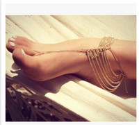 Big feet - Hot Sale Women Fashion Body Chain Big Girl Accessories Lady Foot Chain Multilayer Chain EF35
