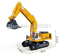diecast - high quality diecast engineering vehicle model kids toy cars crawler excavator kaidiwei similar for siku