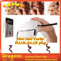 Wholesale New brand mini Hair iron curler hair care tool mini automatic curlers curling irons four type plug EU UK AU UA