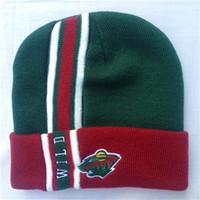 Wholesale Minnesota Beanies Wild Beanies Caps Sports Team Hats Newest Beanies Caps Top Quality Cap Brand Beanies Hats Cool Beanies Cheap Beanies Hats