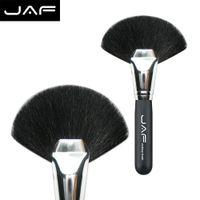 big light fan - Natural Bristle Professional Makeup Brush Deluxe Big Fan Brush Maquiagem GTYF