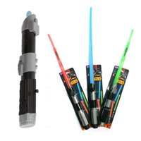 Wholesale Star Wars Electronic Laser Saber with Sound and Light Darth Vader Anakin Skywalker Cosplay Retractable Lightsaber