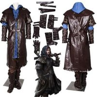 Wholesale 2015 The Hobbit kili cosplay Costume for supermen men cosplay for Carnival party Custom Made Any Size drop shipping