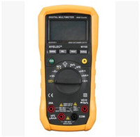 Wholesale best sale HYELEC MY68 Digital Multimeter Counts AC DC Resistance Capacitance Frequency Duty cycle Tester Professional Multimetro H11410