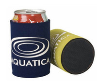 beer holders custom - Good quality Stubby holders custom LOGO print text Beer Bottle Cooler with LOGO for the Great Gift