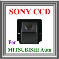 imagen de espejo de seguridad visión trasera de aparcamiento de reserva del coche de envío gratis !!! MITSUBISHI OUTLANDER REVERSE con la línea guía de la cámara SONY CCD CHIP