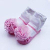 baby sock flowers - Baby Girls Cotton Sock Baby Socks Socks For Kids Ankle Socks Girl Dress Lace Flower Princess Sock Children Clothes Kids Clothing