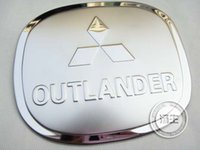 Wholesale Mitsubishi Outlander High quality stainless steel Fuel tank cover Trim