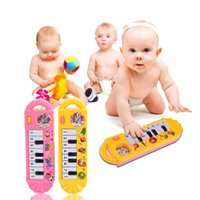 venda por atacado órgão eletrônico brinquedo-Baby Infant Toy Piano Toddler Electronic Organ Toy Teclado Electronic Baby Piano Instrumentos Musicais Toy Para Crianças