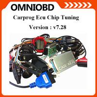 For Citroen airbag - 2015 DHL Free Newest V7 Carprog Programmer Auto Repair Airbag Reset Tools Professional CarProg ECU Pro Full Adaptors