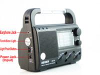 Wholesale DEGEN DE16 FM FML MW SW Crank Dynamo Solar Emergency Radio World Receiver A0901A radio vcd radio pedometer