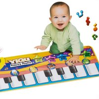 Wholesale Hot Sale Baby Music Sport Play Mat cm Years Kids Piano Keyboard for Animal Toys Carpet Crawling Mats