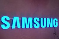 Wholesale LED channel letters face litsigns D logo word number business signs blue color face illuminated signs
