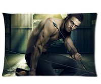 arrow tv series - Hot Pillow Cover Arrow American TV Series Stephen Amell Custom Pillowcase x30 inch sides