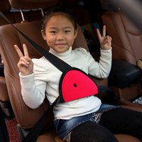Wholesale Top Quality Oxford Fabric Children Car Safety Belt Cover Strap Adjuster Pad Harness Seat Belt Clip Colors S11