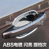 Wholesale Chrome Car Door Handle Bowl per set fit for ESCAPE KUGA