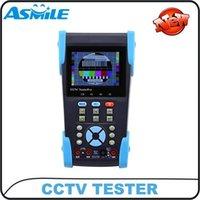 """3.5 """"pulgadas TFT LCD de audio y vídeo de seguridad CCTV Tester Muñequera Cámara CCTV Monitor Test envío gratuito portátil"""