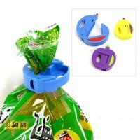 Wholesale 3Pcs Kitchen Food Snacks Chips Storage Bag Sealing Clip Attachment Lock Sealer Fresh Colours Size