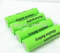 Cheap Free shipping 4pcs lot aa rechargeable battery 3000mah 1.5V aa New Brand Alkaline Rechargeable batery for led light toy mp3