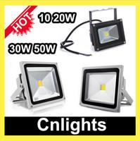 Wholesale Led floodlights W W W W Waterproof Black Gray Outdoor flood light landscape Lighting street lamp lights k k IP65 CE RoHS