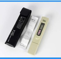 Wholesale Drop Shipping Digital TDS Meter Tester Filter Water Quality Purity tester Pen Stick Tester TDS TEMP PPM with case