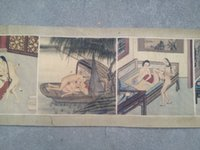 ancient ship pictures - wo old Japanese ancient Erotic Arts erotic nude painting scroll A beat