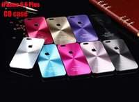 apple iphone 5g price - Best Price Aluminum Metal CD Pattern Back case for Apple iPhone Plus G S PC side aluminium back hard case with Logo DHL