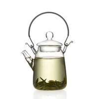 best oolong tea - Brand New ml oz Glass Teapot Handle Heat Resistant For Blooming Oolong Black Tea Best Promotion