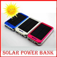 battery charger solar power system - Real Solar Charger Solar Power Bank mah Battery External Charger Portable Panel System for Mobile Phones solar charger