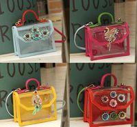 Wholesale New Shourouk Shoulder Bag Transparent women handbag590