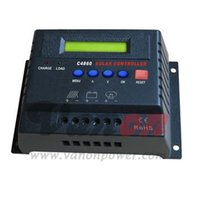 Wholesale High Quality PWM A Solar Charge Controller V V automatic selective with LCD display CE ROHS certificated