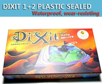 Wholesale Waterproof Wearable Plastic sealed dixit dixit cards KG borad games table card fun family game