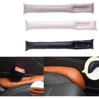 leather seat cover - Supply Car Gap Seat Cover Leather Leakproof Crevice holster Filler Stopper Pad Congestion Accessories Protector Sleeve Seam