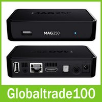 Wholesale Linux System MAG250 MAG Stability Confirmed by IPTV providers in Countries Iptv Box Free DHL Shipping